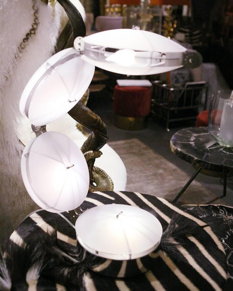French Akram Legrand T33 Table Lamp Exceptional Piece For Sale