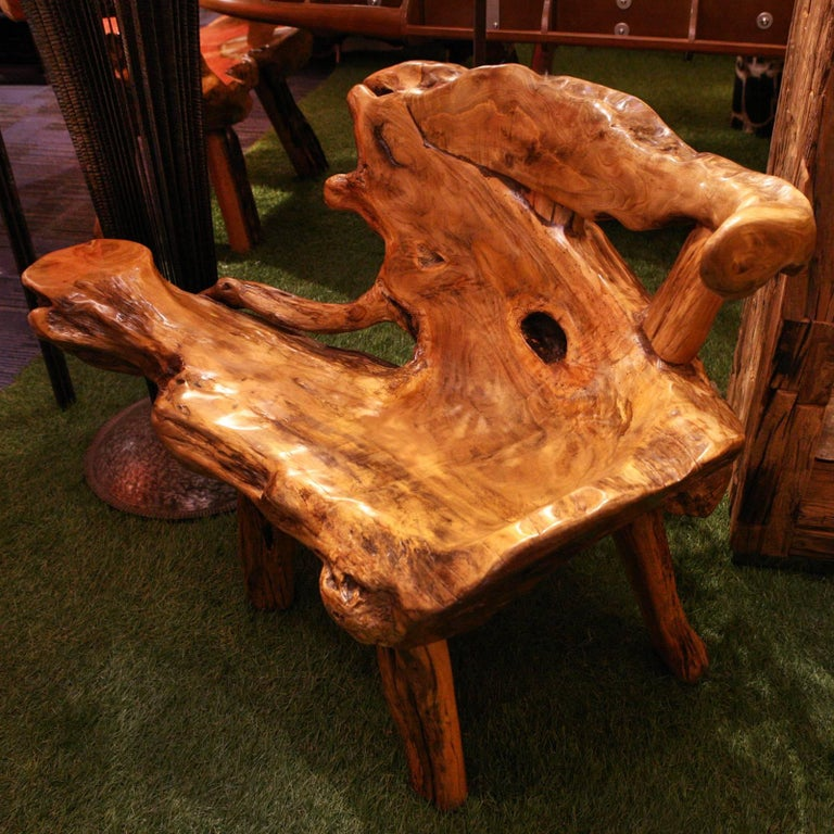 Molave Wood 2 Bench In Solid Molave Wood