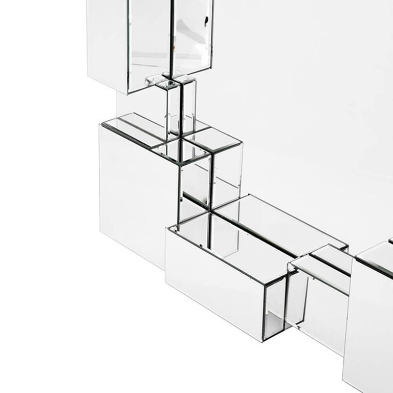 Contemporary Cities Mirror Glass For Sale