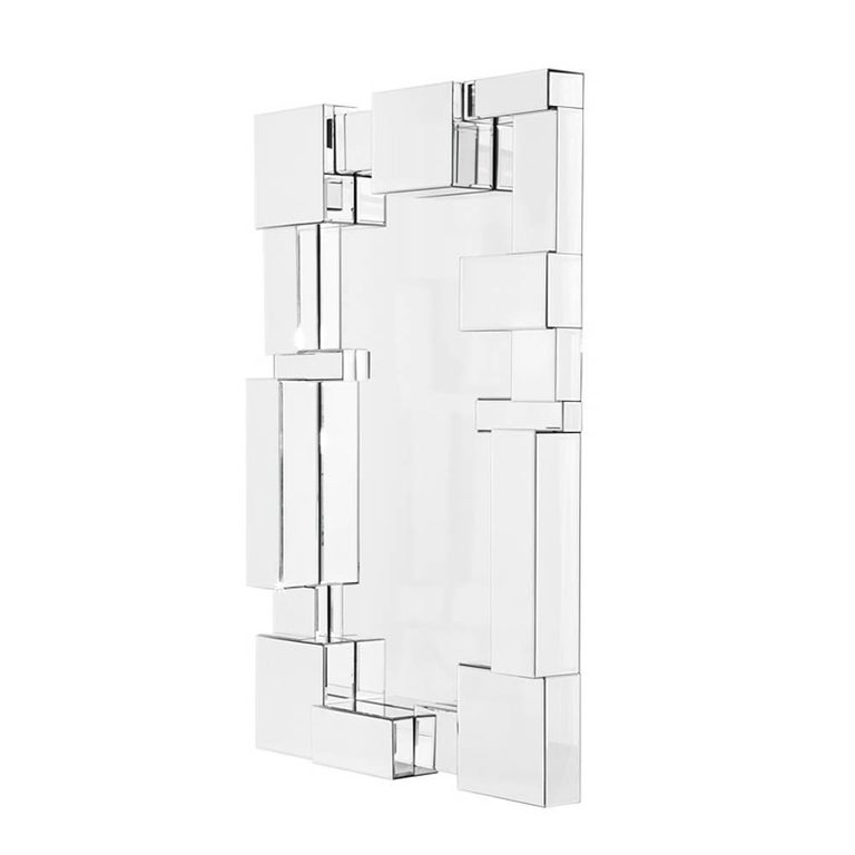 Beveled Cities Mirror Glass For Sale