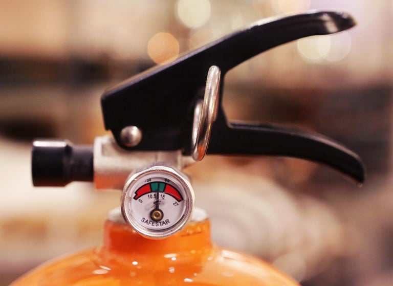 Contemporary Hermes Paris Extinguisher For Sale