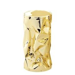 Bumpy Large Stool Gold or Chrome Finish