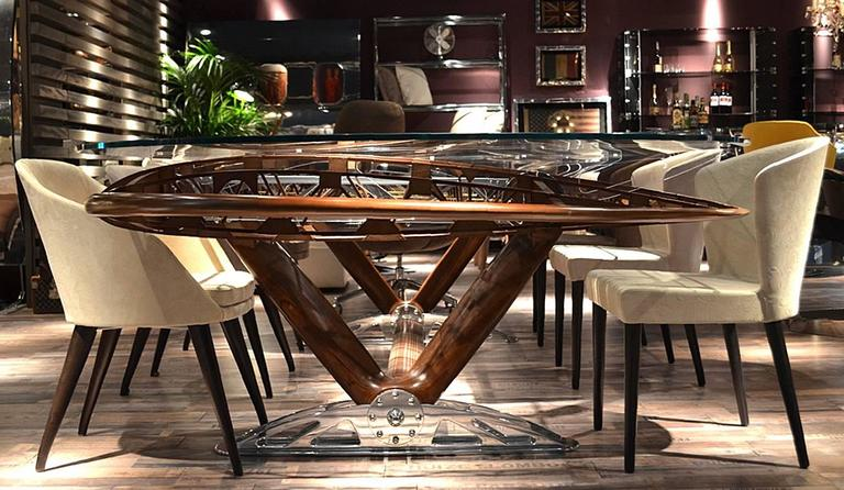 Boeing Bi-Plan Wing Conference Table For Sale 2