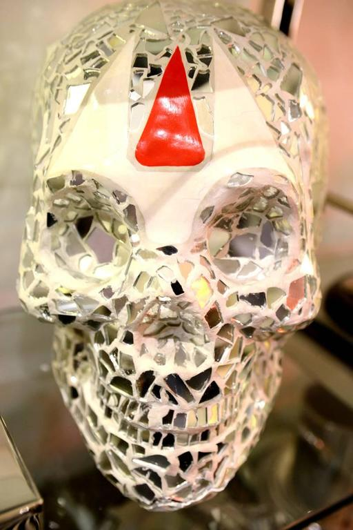 Sculpture Artist Proof Skull Vanity For Sale 1