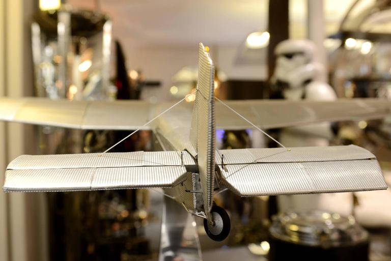 Ford Aircraft Model Trimotor in Aluminium For Sale 2