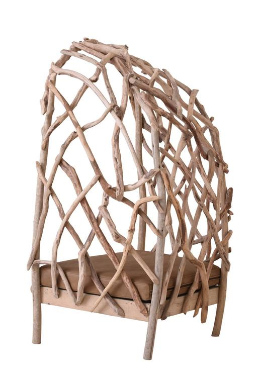 Robinson Bergère Chair in Driftwood 2