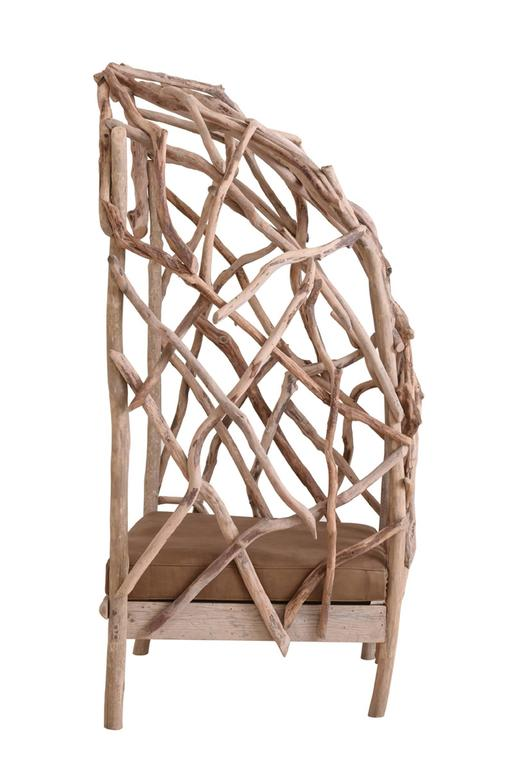 Robinson Bergère Chair in Driftwood 4