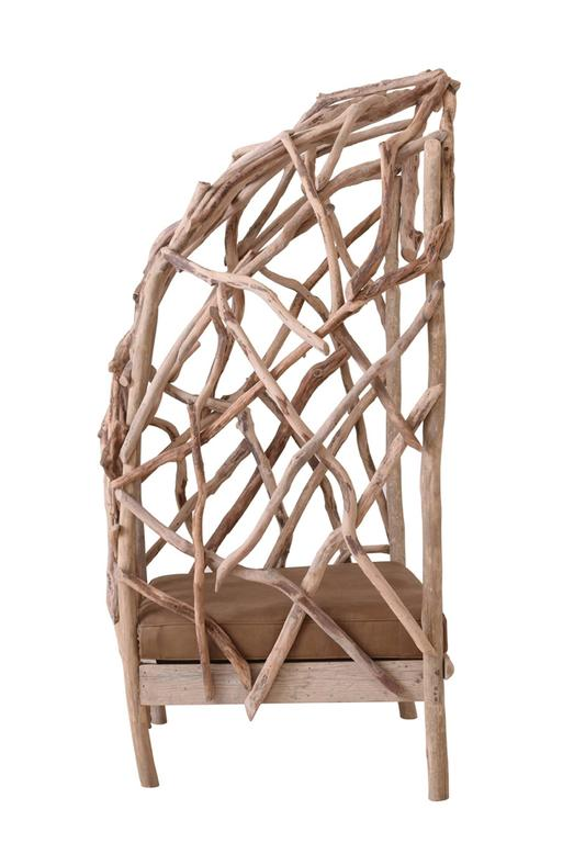 Robinson Bergère Chair in Driftwood 5