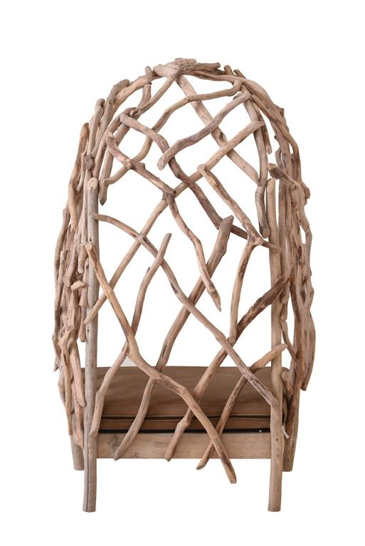 Robinson Bergère Chair in Driftwood 6