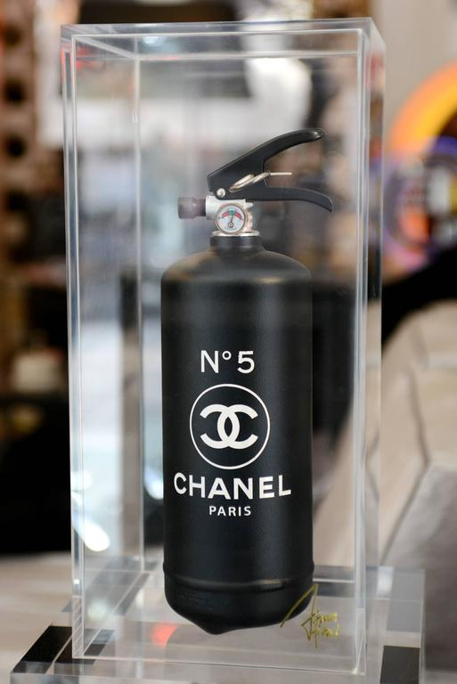 Chanel N 176 5 Black Extinguisher In Limited Edition At 1stdibs