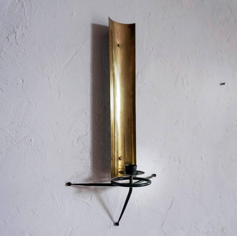 Tony Paul Wall Candle Sconce At 1stdibs