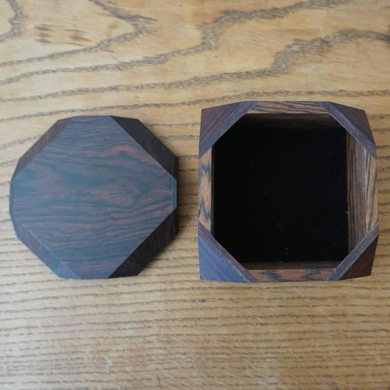 Rosewood Jewelry Box By Tony Lydgate At 1stdibs
