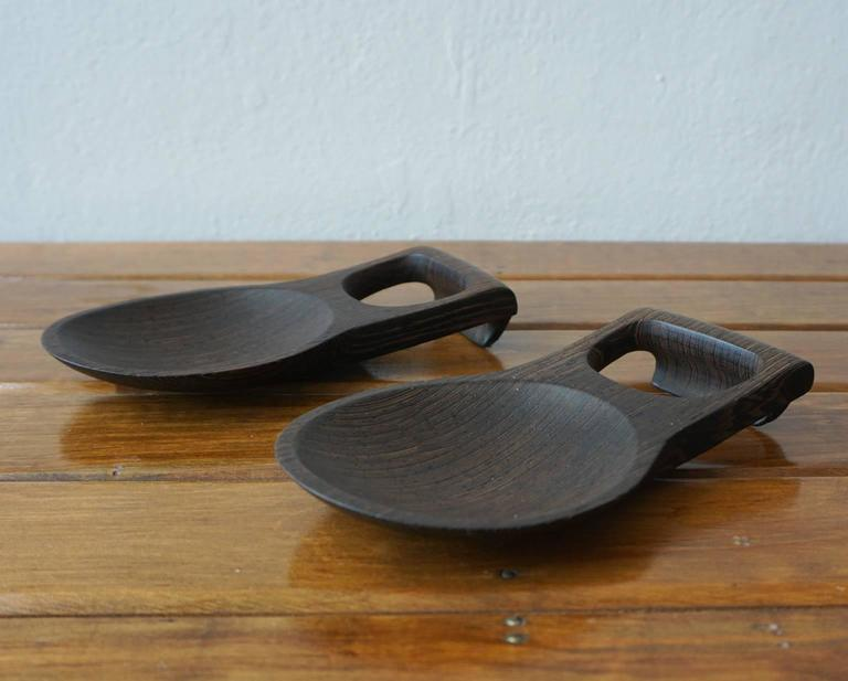 Wenge Dansk Rare Woods Bowl and Tongs by Jens Quistgaard For Sale 1