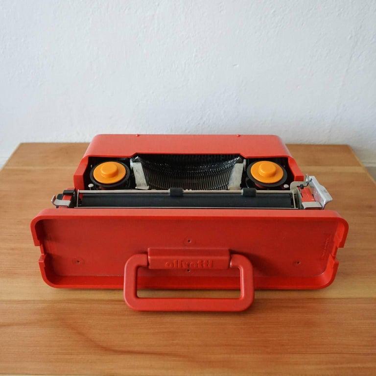 Olivetti Valentine Typewriter By Ettore Sottsass Jr And