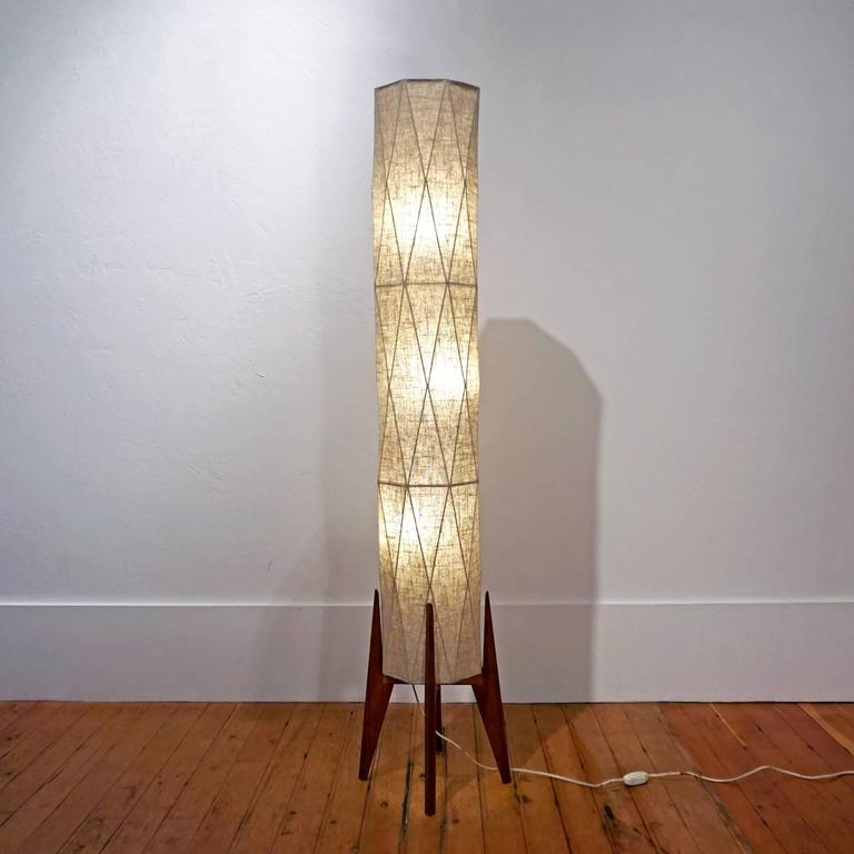 1950s Modern Japanese Origami Floor Lamp At 1stdibs