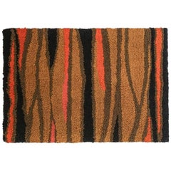Abstract Fiber Art Wall Hanging, 1960s