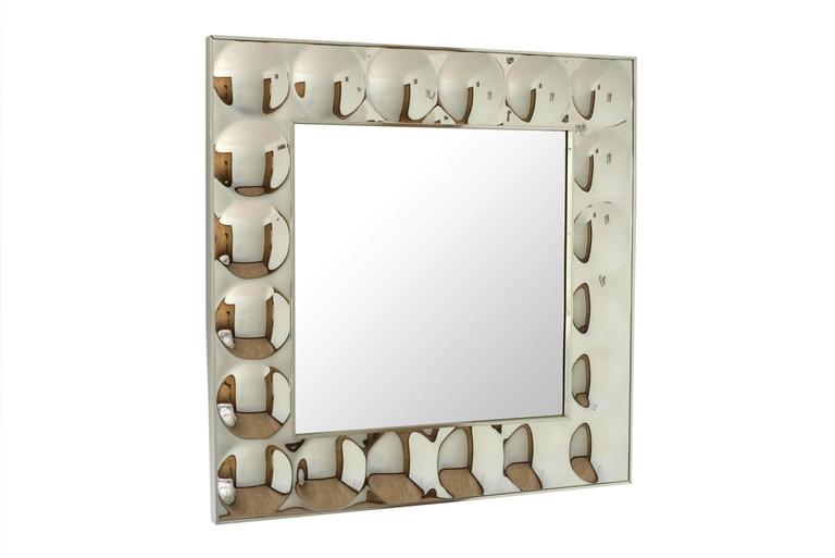 Iconic Pop-Art Turner Bubble Framed Mirror At 1stdibs