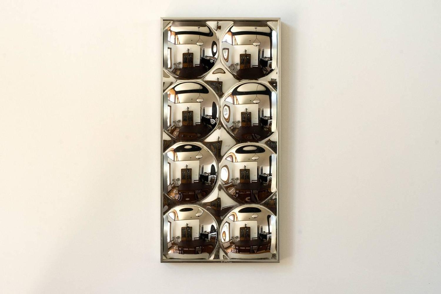 Iconic Pop Art Turner Bubble Mirrors At 1stdibs