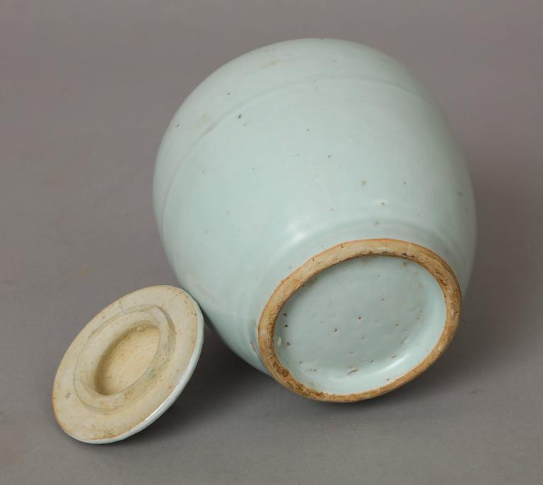 18th Century and Earlier Ming Dynasty Porcelain Vase For Sale