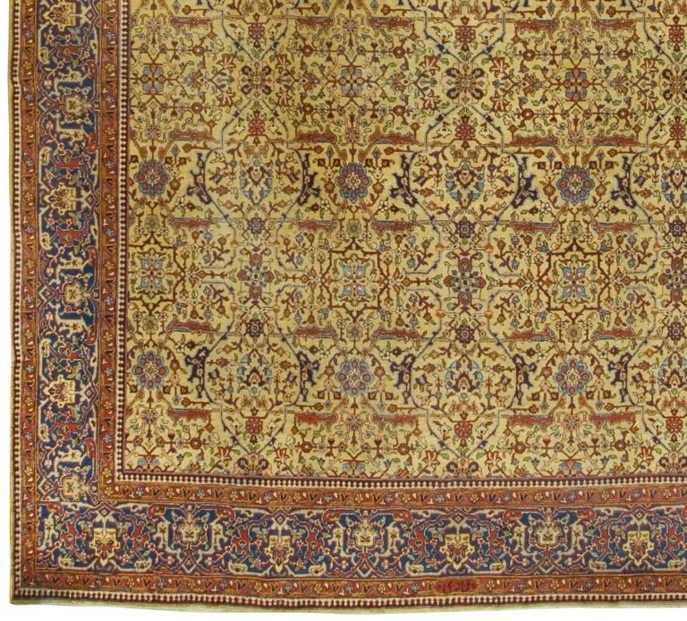 Vintage Persian Tabriz Rug For Sale At 1stdibs