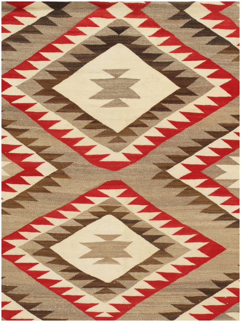 navajo rug patterns. A Rare Large Size Navajo Rug, Circa 1930s. Antique Navajos Are Usually In Scatter Rug Patterns