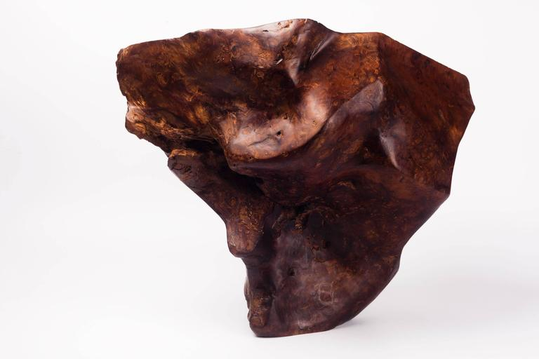 Large burl wood catchall sculpture centerpiece s for