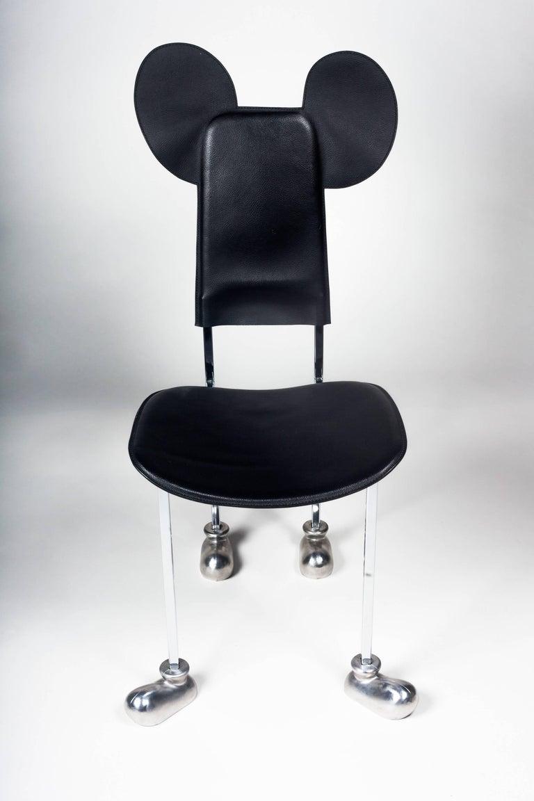 Post-Modern Memphis Chair by Javier Mariscal,