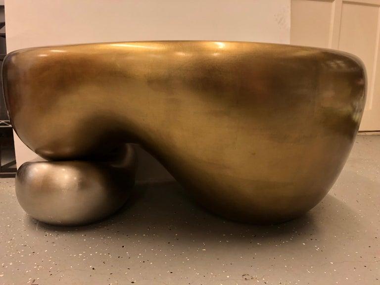 Glass Coffe Table DW5, by Mattia Bonetti For Sale