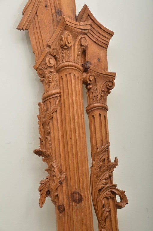 Italian Carved Olive Wood Door Surrounds Image 3