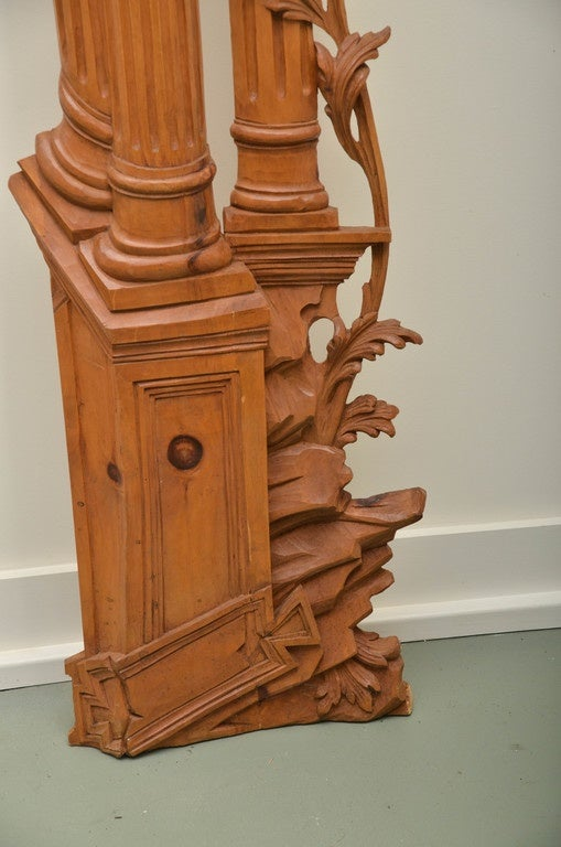 Italian Carved Olive Wood Door Surrounds Image 5