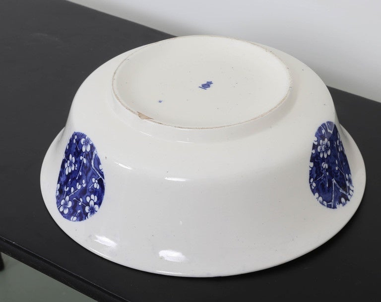 Oversized Minton Hawthorn Pattern Bowl For Sale 4