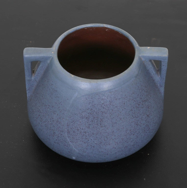 Fulper two handle arts and crafts pottery vase for sale at for Arts and crafts pottery