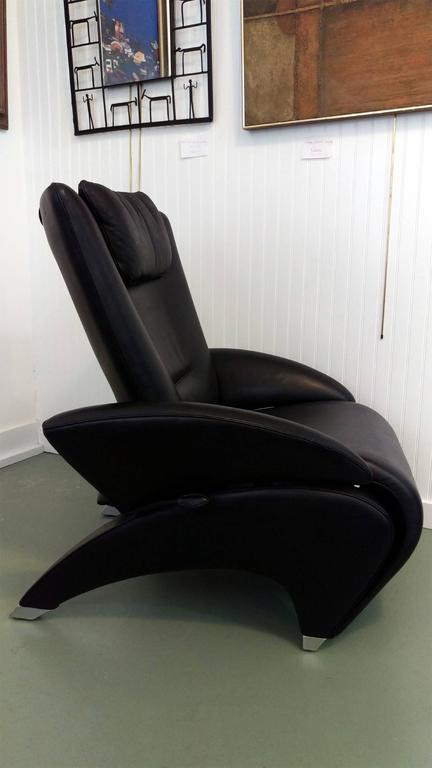 Rare De Sede Recliner With Retractable Chaise Lounge At 1stdibs