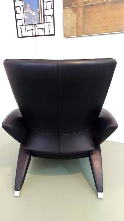 Rare De Sede Recliner With Retractable Chaise Lounge At