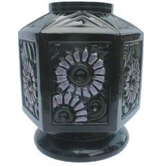 Scailmont Art GlassVase Designed by Henri Heemskerk, circa 1935, Made Belgium