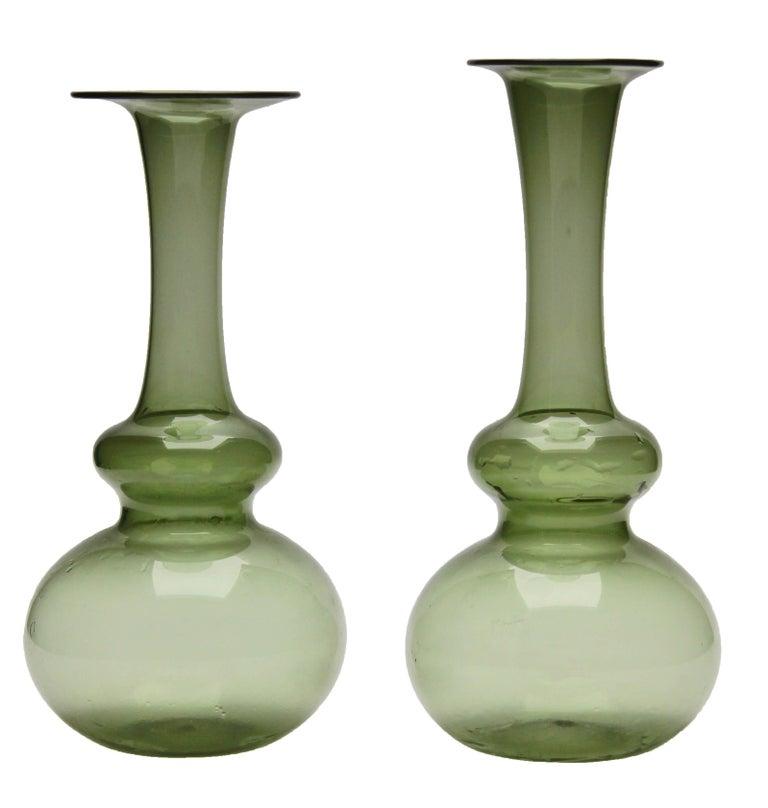 Three Small Vases by Nuutäjarvi-nottsjö, Finland, 1959 6