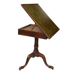 English George III Chippendale Style Reading/Architects Table, circa 1780