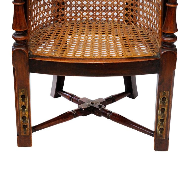 English George III Late 18th Century Mahogany Childs Chair and Table, circa 1790 For Sale 1