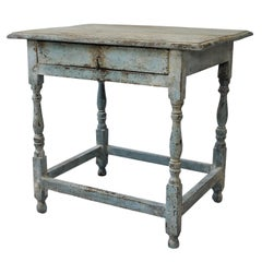 English Mid-18th Century George II Painted Side Table, circa 1740