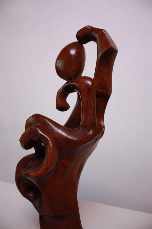 Hand-Carved Monumental Carved 'Hand' Sculpture For Sale
