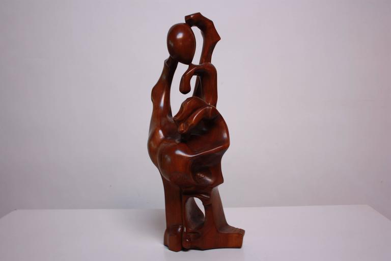Monumental Carved 'Hand' Sculpture In Good Condition For Sale In Brooklyn, NY