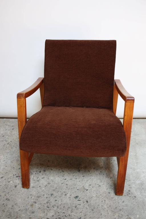Mid-Century Modern Jens Risom Armchair for Knoll For Sale
