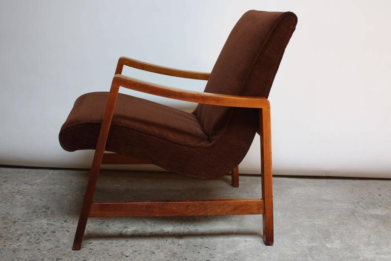 Jens Risom Armchair for Knoll In Good Condition For Sale In Brooklyn, NY