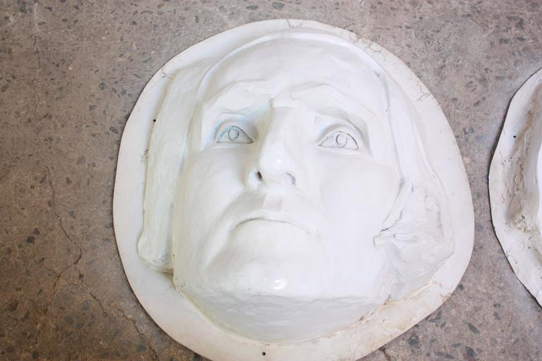 Large Fiberglass Mt. Rushmore Sculptures In Good Condition For Sale In Brooklyn, NY