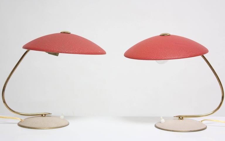 Mid-Century Dutch Table Lamps 3