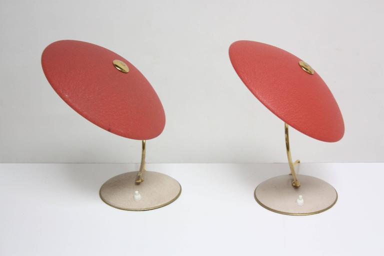 Mid-Century Dutch Table Lamps For Sale 1