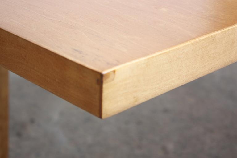 Paul McCobb Maple Extendable Dining Table 4