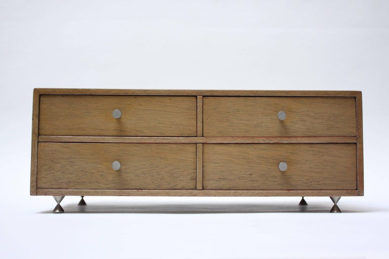 Mid-Century Modern American of Martinsville Jewelry Cabinet For Sale
