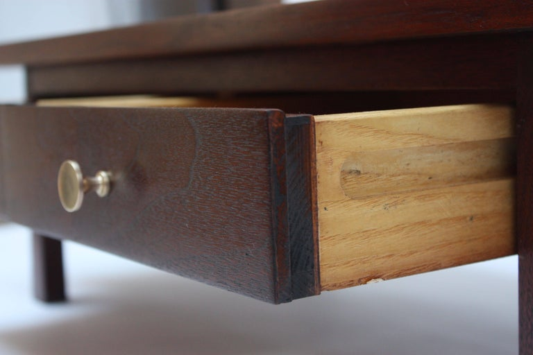 Midcentury American Modern Walnut Jewelry Chest In Excellent Condition For Sale In Brooklyn, NY