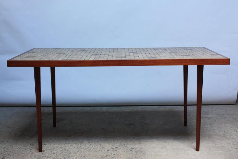 martz for marshall studios tile top dining table for sale at 1stdibs